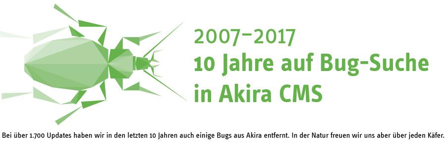 10 Jahre Akira CMS